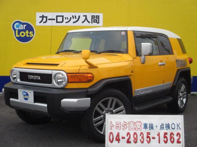 トヨタ FJクルーザー ベースグレード 純正HDDナビ ワンセグ バックカメラ