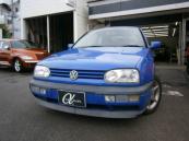フォルクスワーゲン VW ゴルフカブリオレ カラーコンセプト 限定車 革シート