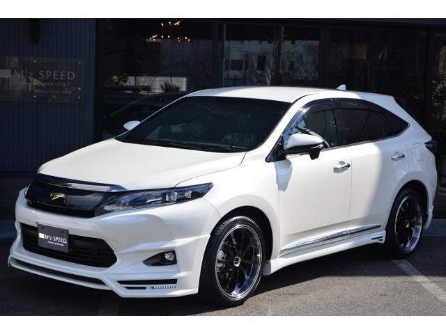 トヨタ ハリアー エレガンス ZEUS 新車コンプリート ローダウン 20AW