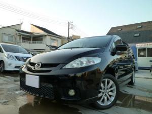 マツダ プレマシー 20S 4WD・純正ナビ両側パワードア