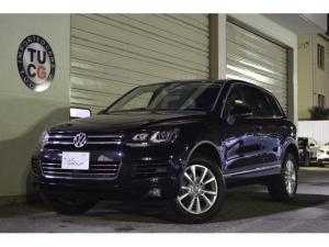 フォルクスワーゲン VW トゥアレグ V6 ETC ナビTV 黒革 クルコン ECO機能 1年保証