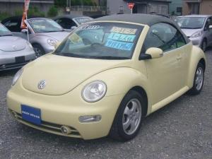 フォルクスワーゲン VW ニュービートルカブリオレ シートヒーター付