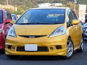 ホンダ フィット RS 5MT 無限エアロモデューロサス柿本マフラー ナビTV