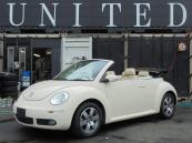 フォルクスワーゲン VW ニュービートルカブリオレ LZ ホロ綺麗 レザーシート 安心ロング無料保証付き