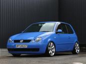 フォルクスワーゲン VW ルポ コンフォートパッケージ 車高調 マフラー バッドフェイス