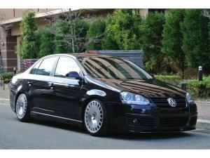 フォルクスワーゲン VW ジェッタ 2.0TDSG 革シート HDDナビ地デジ 車高調 USDM
