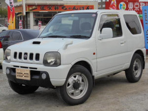 スズキ ジムニー XL ユーザー買取車 Tチェーン式 社外アルミ Rスポイラー