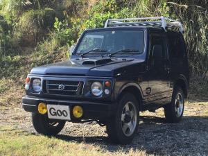 スズキ ジムニー XS ターボ 4WD ルーフキャリア ETC フロアAT