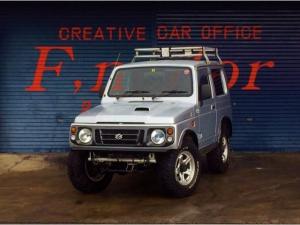 スズキ ジムニー XB 4WD 社外アルミ オーバーフェンダー