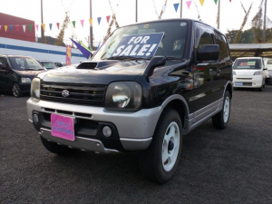 スズキ ジムニー ワイルドウインド 4WD 社外アルミ 社外マフラー ETC