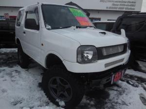 スズキ ジムニー XG 4WD リフトアップ HID 社外マフラー 革調シート