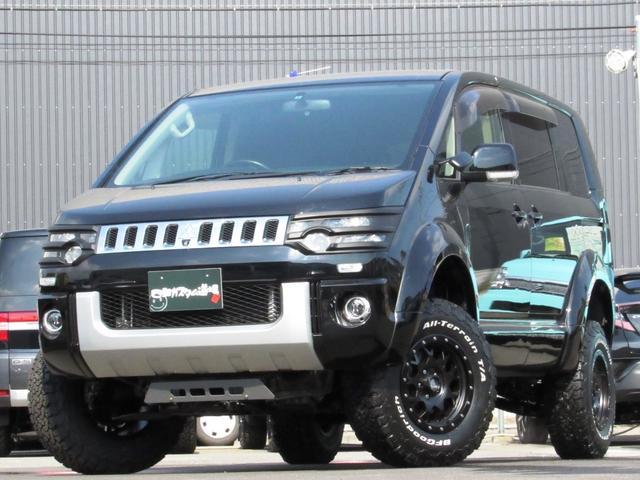 三菱 デリカD:5 エクシードII4WD 地デジナビ 左側Pスライド 新品AW
