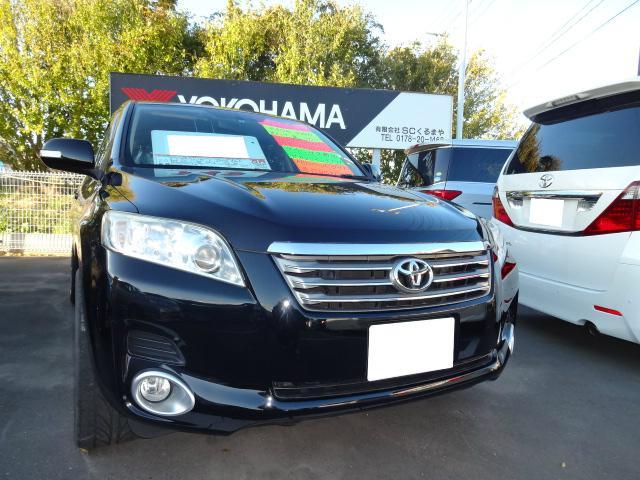 トヨタ ヴァンガード 240S 4WD ワンセグ対応社外HDDナビ 社外20AW