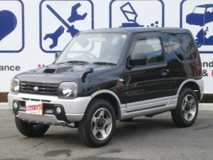 スズキ ジムニー ワイルドウインド 4WD ワンオーナー 純正AW ETC