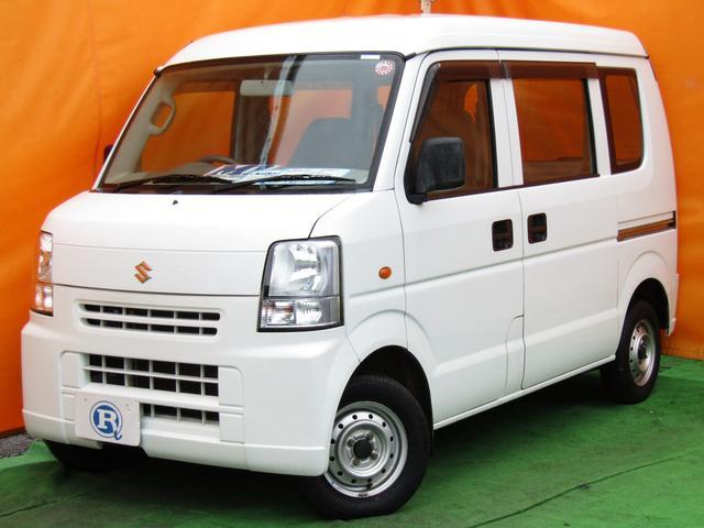スズキ エブリイ PA パートタイム4WD Tチェーン式 インパネオートマ