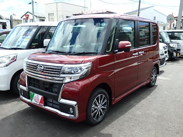 ダイハツ タント カスタムXトップエディションSAII 4WD 届出済未使用車