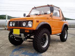 スズキ ジムニー インタークーラーターボ 4WD 5速マニュアル車 HID
