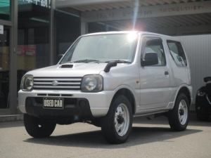スズキ ジムニー XG 4WD ターボ 中古スタッドレスタイヤ付 CD
