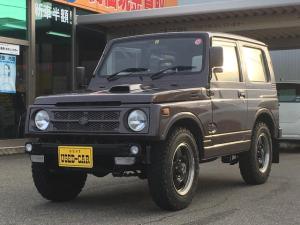 スズキ ジムニー ワイルドウインドリミテッド 4WD 純正アルミ 5速MT