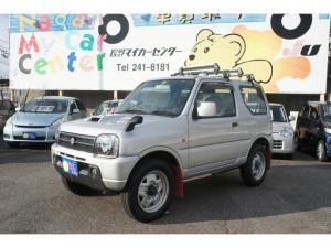 スズキ ジムニー XG ターボ 4WD 5速マニュアル ナビ ETC
