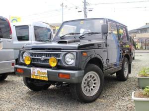 スズキ ジムニー スコットリミテッド 4WD ターボ 社外ハンドル社外マフラー