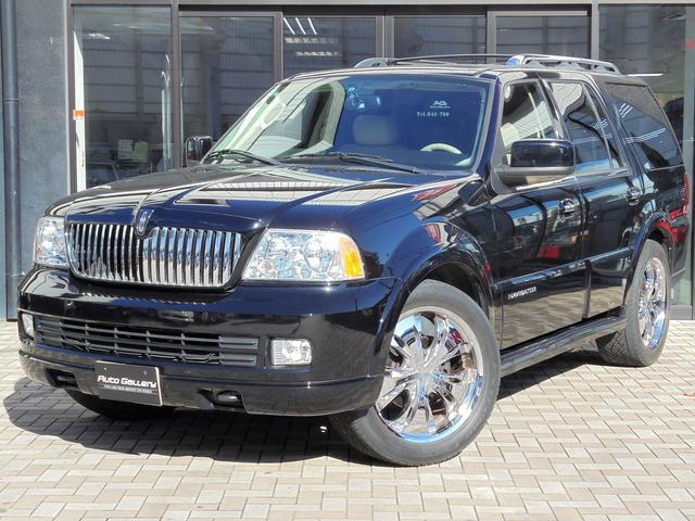 リンカーン リンカーン ナビゲーター アルティメイト 4WD 新車並行 バネサス仕様