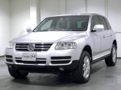 フォルクスワーゲン VW トゥアレグ V8 HDDナビ 黒本革木目 1オーナー 認証整備付