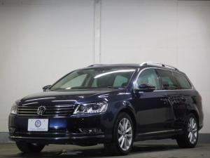 フォルクスワーゲン VW パサートヴァリアント TSIハイラインBMT新車保証 駐車アシスト 黒革 SDナビ