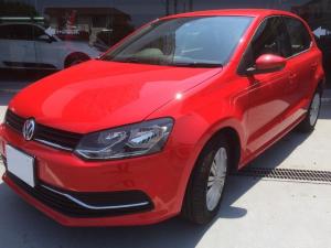 フォルクスワーゲン VW ポロ TSIコンフォートライン追従クルコンエマージェンシーブレーキ