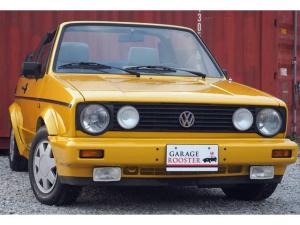 フォルクスワーゲン VW ゴルフカブリオレ ベースグレード タイベル交換済 幌開閉可 全塗装済み