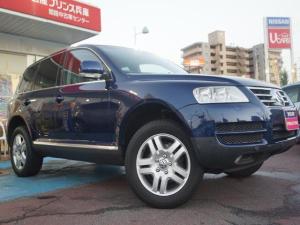 フォルクスワーゲン VW トゥアレグ V6 4WD ブラックレザー HDDナビ