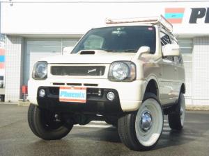 スズキ ジムニー ワイルドウインド4WD リフトアップLEDライト専用レザーS