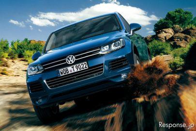 【VW トゥアレグ 試乗】トヨタのHVに乗っているよう…松下宏