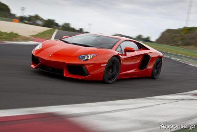 【ランボルギーニ アヴェンタドール 試乗】スーパーカー好きの楽しみがまた増えた…西川淳