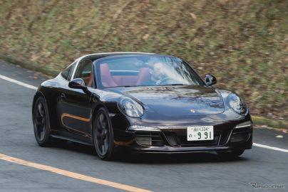 ポルシェ 911 タルガ4 GTS《撮影 太宰吉崇》