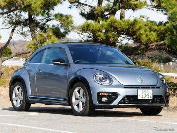 【VW ザ・ビートル Rライン 試乗】これでちょうどいいかな?…中村孝仁