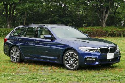 BMW 540i xDrive Touring M Sport《撮影 島崎七生人》