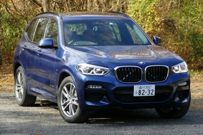 BMW X3 xDrive20d xLine《撮影 島崎七生人》