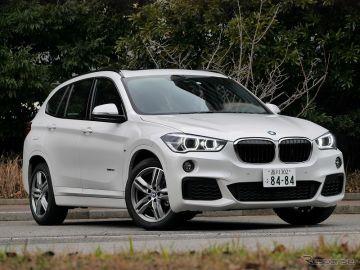 BMW X1 sDrive18i撮影 中村孝仁