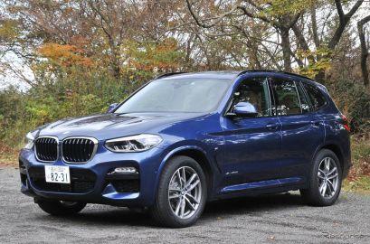 BMW X3 xDrive20d Mスポーツ《撮影 諸星陽一》