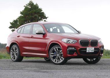 BMW X4 M40i撮影 中村孝仁
