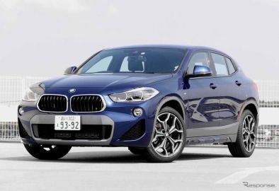 BMW X2(X2 sDrive 18i)撮影 中村孝仁