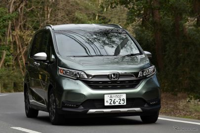 【ホンダ フリード 新型試乗】コンパクトながら十分な車内空間はマジックのよう…島崎七生人