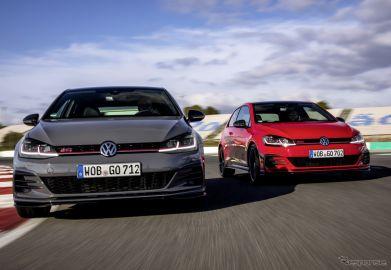 VW ゴルフGTI TCR(写真は海外仕様)《photo by VW》