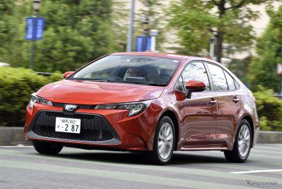 【トヨタ カローラ 新型試乗】全幅1750mm以下のセダンで最も安定性と乗り心地に優れる…渡辺陽一郎