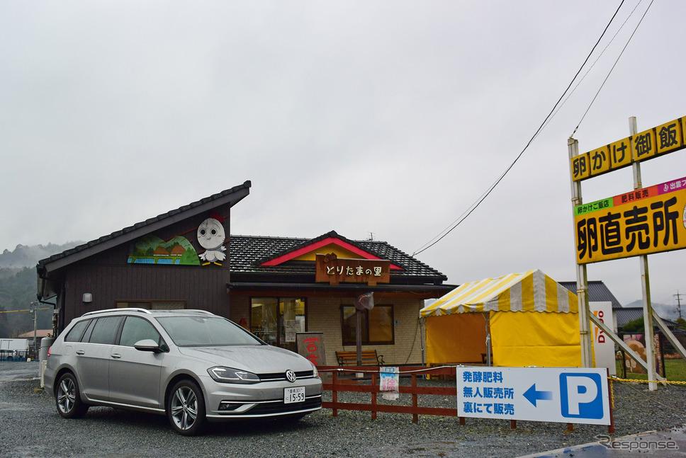 山口の山間部で卵かけごはん食べ放題レストラン、徳地とりたまの里に出くわす。《写真撮影 井元康一郎》