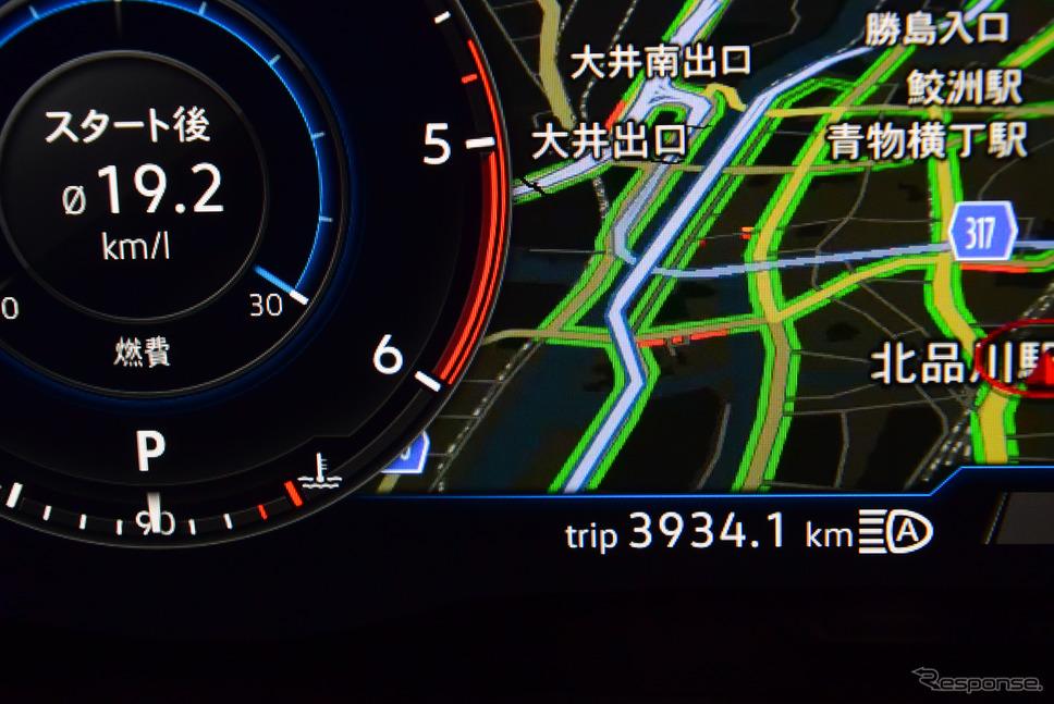総走行距離3934.1km。《写真撮影 井元康一郎》