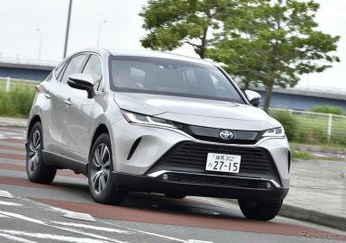 【トヨタ ハリアー 新型試乗】「勝ち残る車種」の強みと課題…渡辺陽一郎
