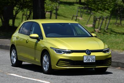 "【VW ゴルフ 新型試乗】""7""の文脈を色濃く引き継いだスタイルと走り…島崎七生人"