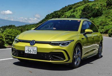 VW ゴルフヴァリアント 新型(R-Line)《写真撮影 宮崎壮人》